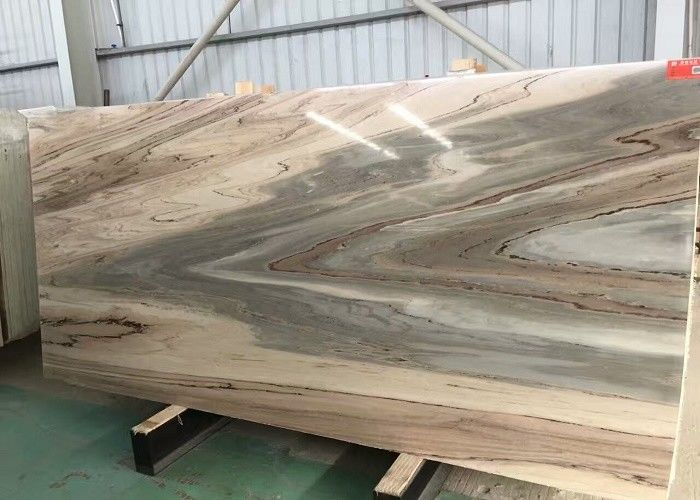 High Hardness Italian Marble Slabs , Golden River Bookmatch Antique Marble Slab