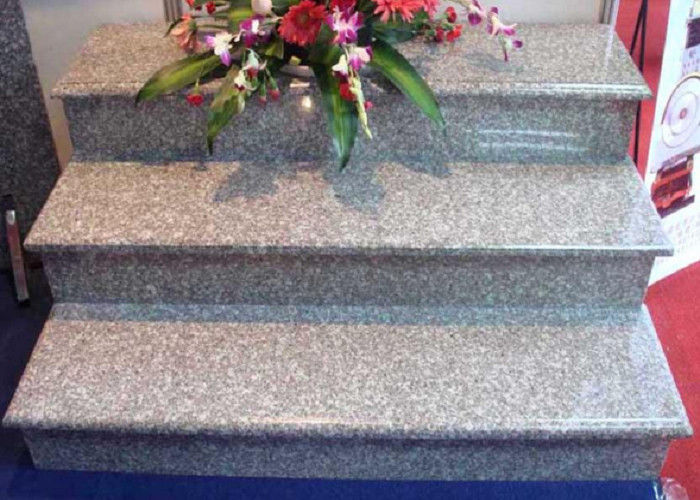 Straight Granite Step Treads 2.79g / Cm3 Bulk Density 8.6 Hardness